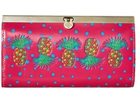 Patricia Nash Cauchy Wallet Pineapple Pink Wallet