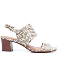 Derek Lam 10 Crosby Open Toe Sandals Nude And Neutrals