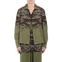 Marcelo Burlon County Of Milan Men's Camouflage Banes Jacket Dark Green