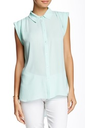 Zoa Rolled Sleeve Shirt Green
