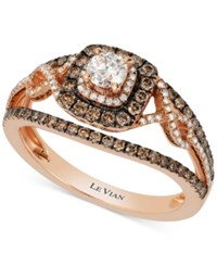 Le Vian Bridal Diamond Engagement Ring 7 8 Ct. T.W. In 14K Rose Gold