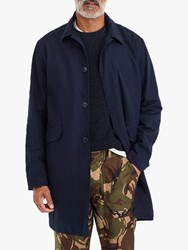 J.Crew Seaside Trench Coat Navy