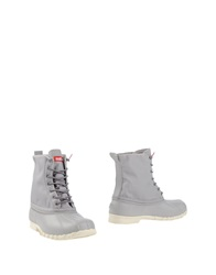 Native Ankle Boots Light Grey