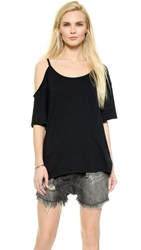 Free People After Party Tee Black