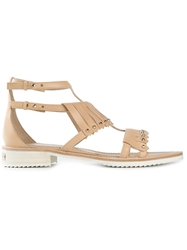 Aperlai 'Loula' Fringed Sandals