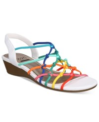 Impo Rima Wedge Sandals Women's Shoes Rainbow Multi