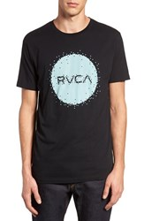 Rvca Men's Digi Motors Graphic Crewneck T Shirt