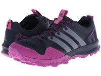 Adidas Kanadia Tr 7 Collegiate Navy White Lucky Pink Women's Running Shoes Blue