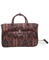 Ricardo Big Sur 20' Rolling Duffel Only At Macy's Mocha Maze