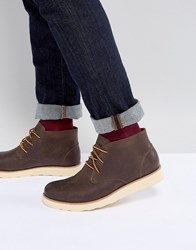 Eastland Jack Chukka Leather Boots In Brown Brown