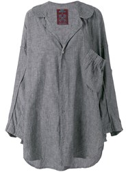 John Galliano Vintage 1985 Oversized Shirt Grey