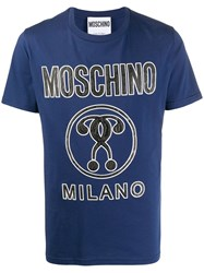 Moschino Embossed Question Mark T Shirt 60
