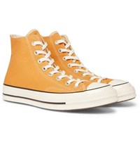 Converse 1970S Chuck Taylor All Star Canvas High Top Sneakers Yellow