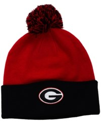 Top Of The World Georgia Bulldogs 2 Tone Pom Knit Hat