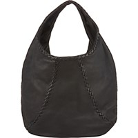 Bottega Veneta Women's Large Hobo Black Blue Black Blue