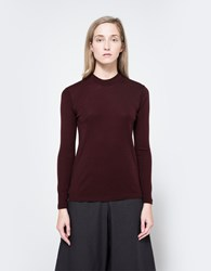 Norse Projects Embla Pullover Plum