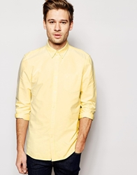 Jack Wills Oxford Shirt In Slim Fit Sunflower