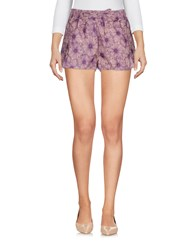 F K Project Shorts Purple