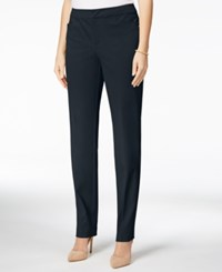 Charter Club Petite Slim Leg Pants Only At Macy's Deepest Navy