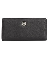 Giani Bernini Boxed Bifold Wallet Created For Macy's Black