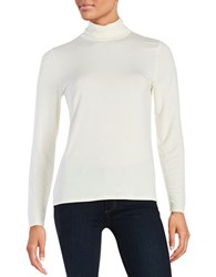 Calvin Klein Turtleneck Knit Top Birch