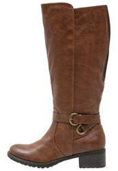 Evans Lucie Boots Brown