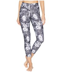 Jockey Active Mineral Bouquet 7 8 Leggings Deep Black Workout