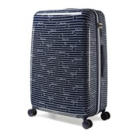 Radley Dog Stripe Suitcase Ink Blue