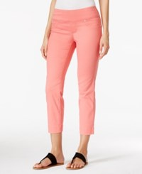 Styleandco. Style And Co. Pull On Capri Jeans Only At Macy's Dusty Rouge