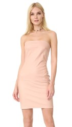 Theperfext Leather Dress Pink