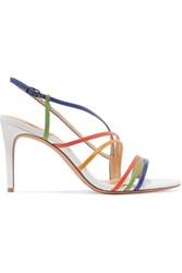 Alexandre Birman Leather Sandals Blue