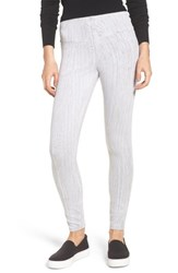 Lysse Toothpick Denim Leggings Grey Tie Dye