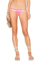 Les Coquines Elle Reversible Tab Side Bottom Coral
