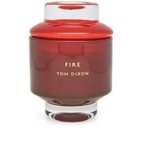 Tom Dixon Elements Fire Candle Red