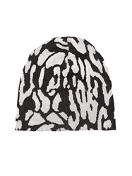 Baja East Cotton Leopard Beanie