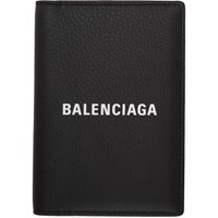 Balenciaga Black Everyday Passport Holder