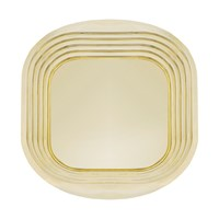Tom Dixon Form Tray Gold Square