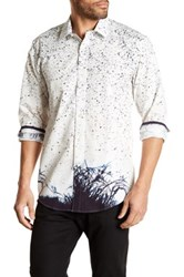 1 Like No Other Long Sleeve Woven Classic Fit Shirt White