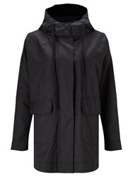 John Lewis Kin By Lightweight Parka Jacket Black