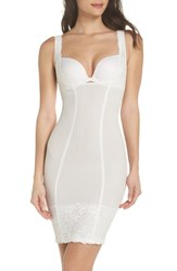 Magic Bodyfashion 'S Super Control Lace Slip Ivory