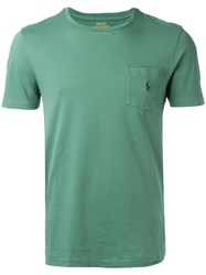 Polo Ralph Lauren Logo Pocket T Shirt Men Cotton Xl Green