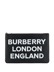 Burberry Logo Print Clutch 60
