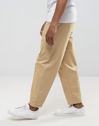 Selected Homme Wide Fit Chinos Starfish Stone