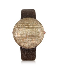 Christian Koban Clou Brown Diamond Dinner Watch