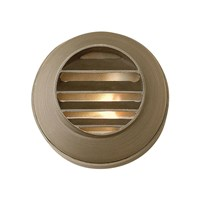 Hinkley Hardy Island Round Louvered Deck Sconce 16804Mz Halogen Brown