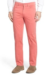 Men's Peter Millar Stretch Sateen Five Pocket Pants Nantucket Red