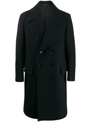 Tom Ford Double Breasted Pea Coat Black