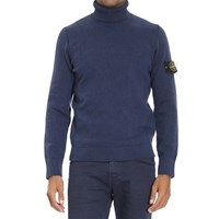 Stone Island Winter Cotton Turtleneck