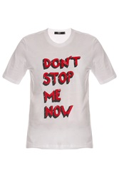 Markus Lupfer Don't Stop Me Now Tee
