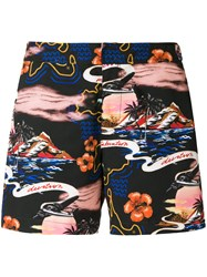 Stella Mccartney Infatuation Print Swim Shorts Multicolour